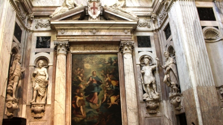 altare di san Pietro