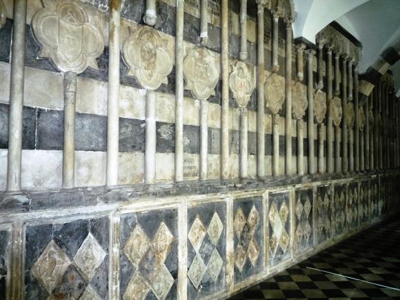 ala nord del chiostro del convento di s. francesco di castelletto
