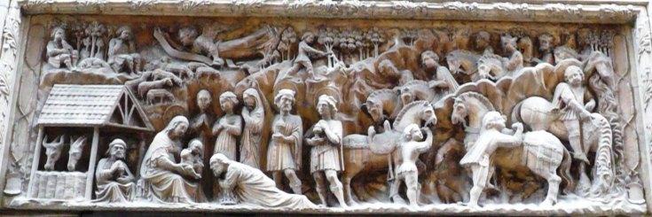 bassorillievo in marmo dei Gagini 1460