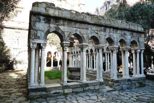 chiostro del convento di s. Andrea demolito nel 1904