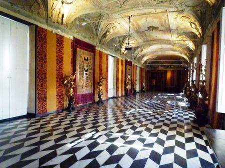 galleria aurea voluta da Giovanni Andrea I Doria