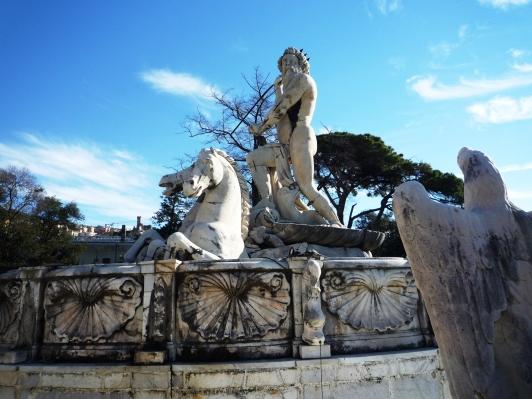 Taddeo Carlone fontana di Nettuno