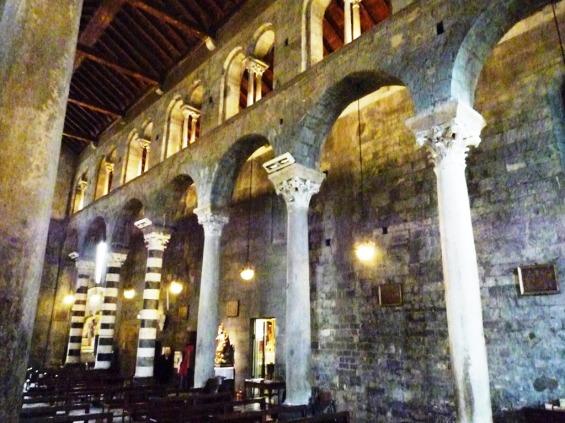 navata centrale chiesa di san Donato