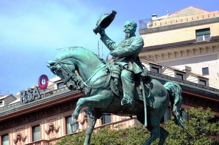monumento a Vittorio Emanuele II primo rè d' Italia