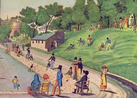 acquasola d. del pino - g. piaggio prima della ristrutturazione del barabino 1818 c. incisione