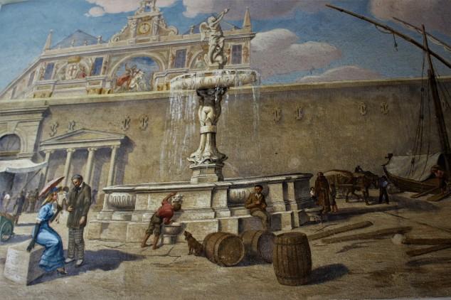 fontana del porto antico orsolino