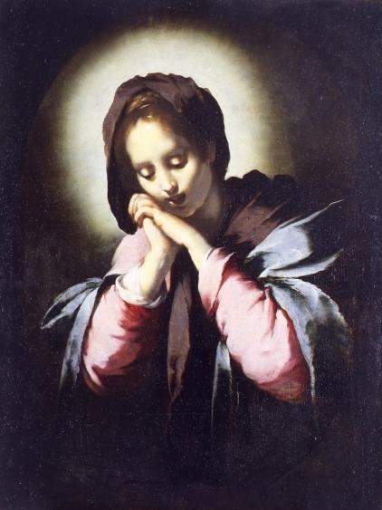Bernardo Strozzi, Vergine addolorata