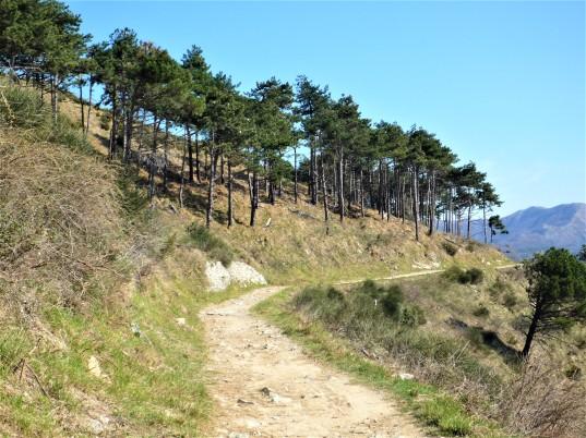 sentiero delle baracche